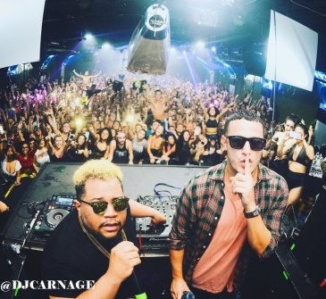 Carnage & Blogthenoise at Hangar NightClub